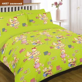 Дитячий КПБ Viluta™ 4457 зелений ранфорс