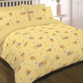 Дитячий КПБ Viluta™ 6112 жовтий ранфорс