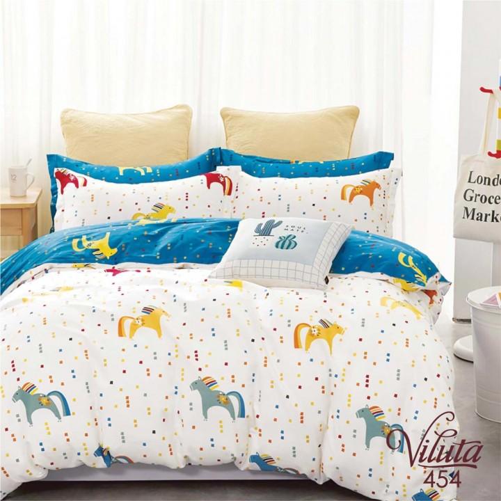 Комплект дитячої постільної білизни Viluta 454 сатин твіл
