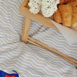 Комплект постільної білизни Вілюта сатин твіл 541 двоспальний