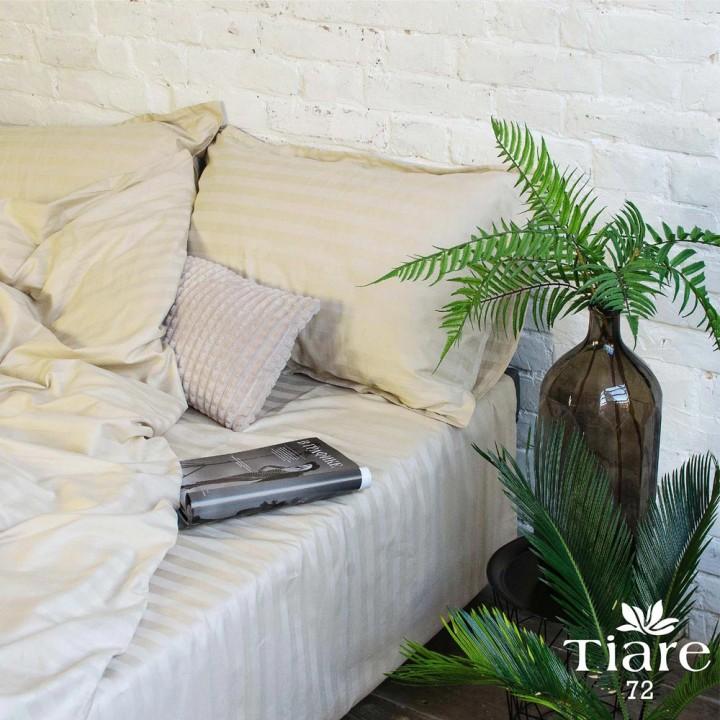 Комплект постільної білизни Вілюта сатин страйп 72 євро