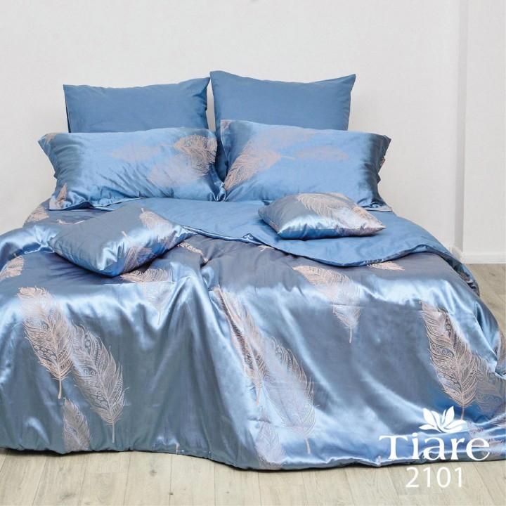 Комплект постільної білизни Вілюта Tiare 2101 сатин жакард євро