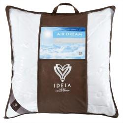Подушка Ідея™ Air Dream Exclusive 70х70 см (силіконізоване поліефірне волокно/поплін)