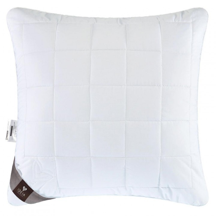 Подушка Ідея™ Air Dream Premium 70х70 см (силіконізоване поліефірне волокно/мако-сатин)