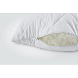 Подушка Ідея™ Comfort Standart+ 40х60 см (силіконізоване гранульоване волокно/мікрофібра)