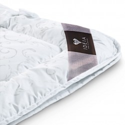 Ковдра двоспальна IDEIA Зима-Літо 175х210 (силіконізоване волокно/мікрофібра)