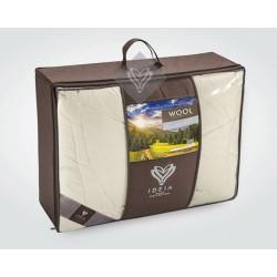 Ковдра євро Ідея™ Wool Premium 200х220 (вовна/мако-батист)