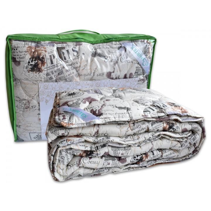 Ковдра двоспальна Mirtex™ 200х220 (овеча вовна/бязь)